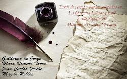 Tarde de letras en La Qarmita
