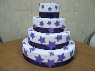 fazendo bolo fake massa acrílica