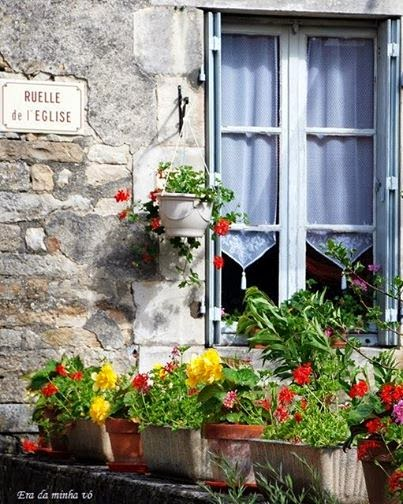 Flores para janelas