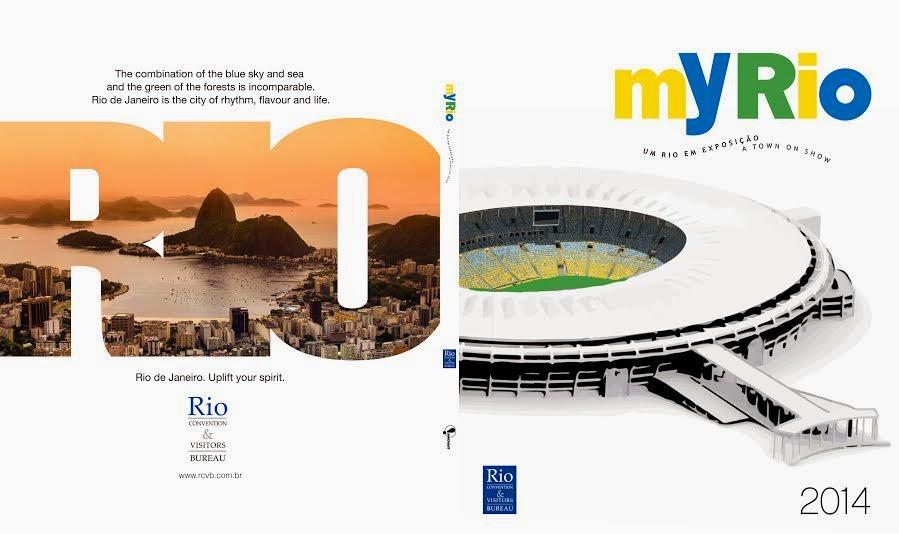 Rio CVB lança edição especial de Copa do livro MyRio