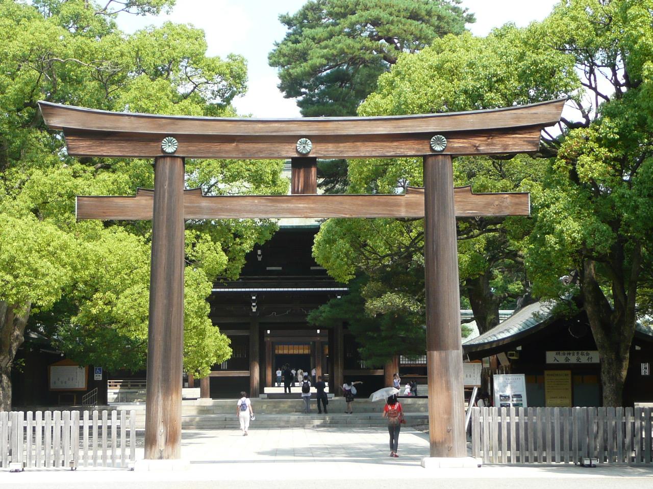 WEBS OF SIGNIFICANCE: Finally -- a visit to Meiji Jingu ...