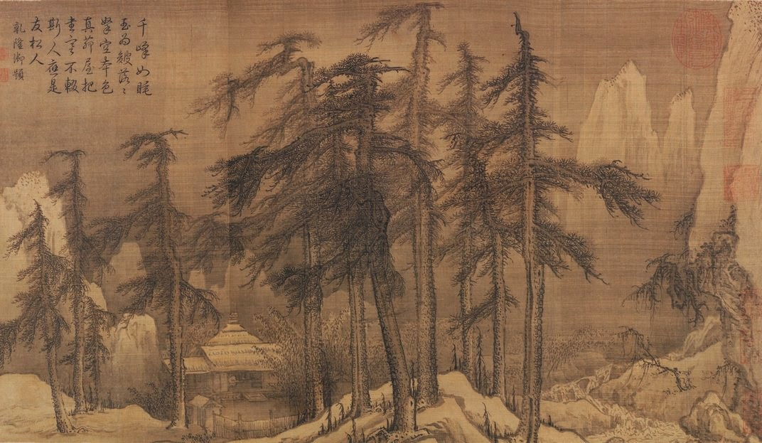 Mongols china and the silk road wind and snow in the fir for Dynasty mural works