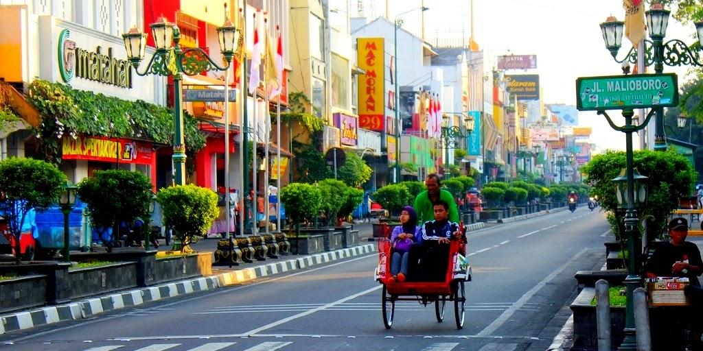 Shopping center in Jogjakarta