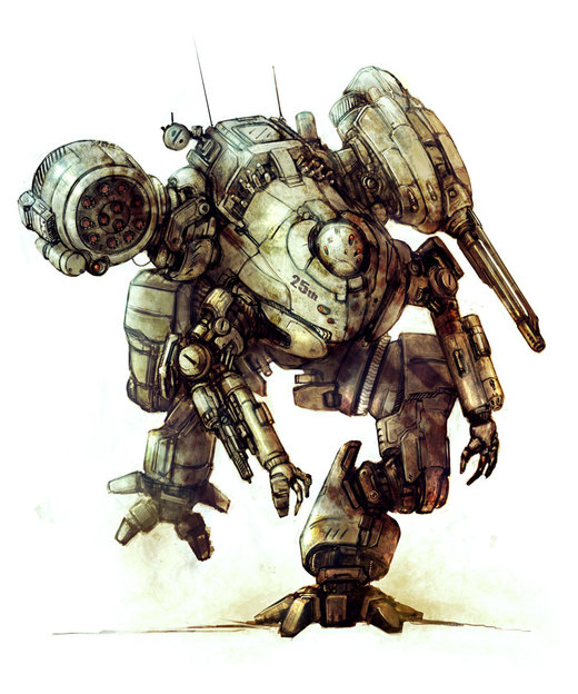 Corporate Assault mech por flyingdebris