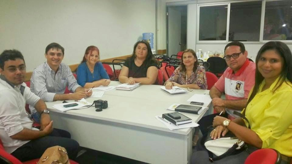 REPRESENTAÇÃO DO NÚCLEO MUNICIPAL PARTICIPAM DA REUNIÃO COM A COORDENAÇÃO ESTADUAL DOS ODM