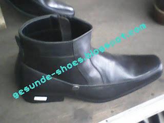 sepatu bally bercorak polos