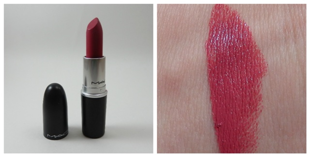MAC Amplified creme Craving with swatch