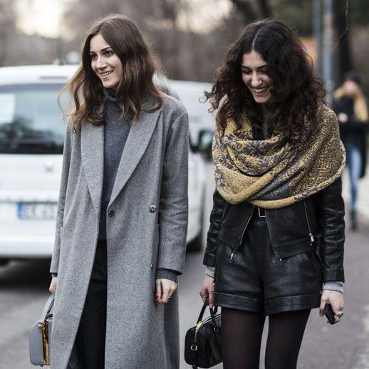 Giorgia and Giulia Tordini