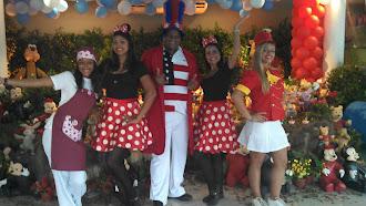Equipe Tititi Tatata - Festa Disney