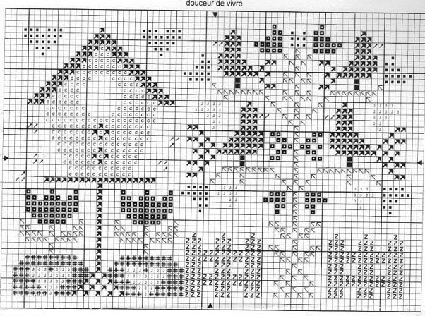 Tralala схемы вышивки 91