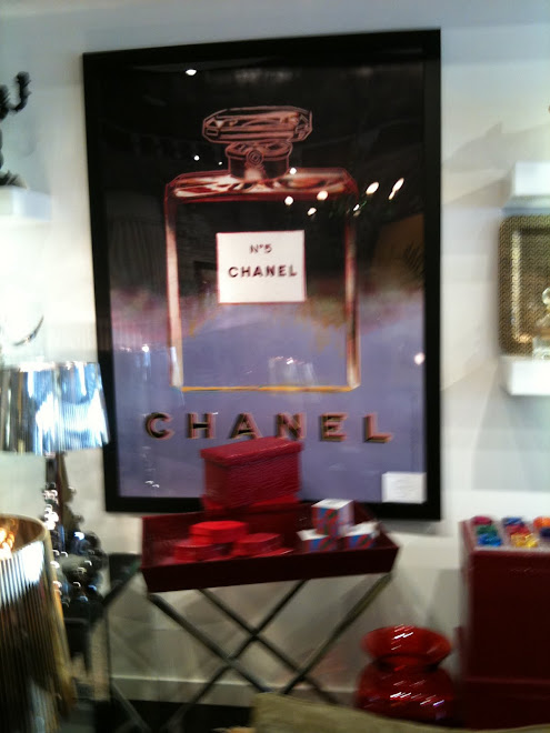 Art - Chanel Poster at Maison 24