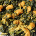 Prawn( Shrimp) Greens Thoran/ Era Keerai Poriyal