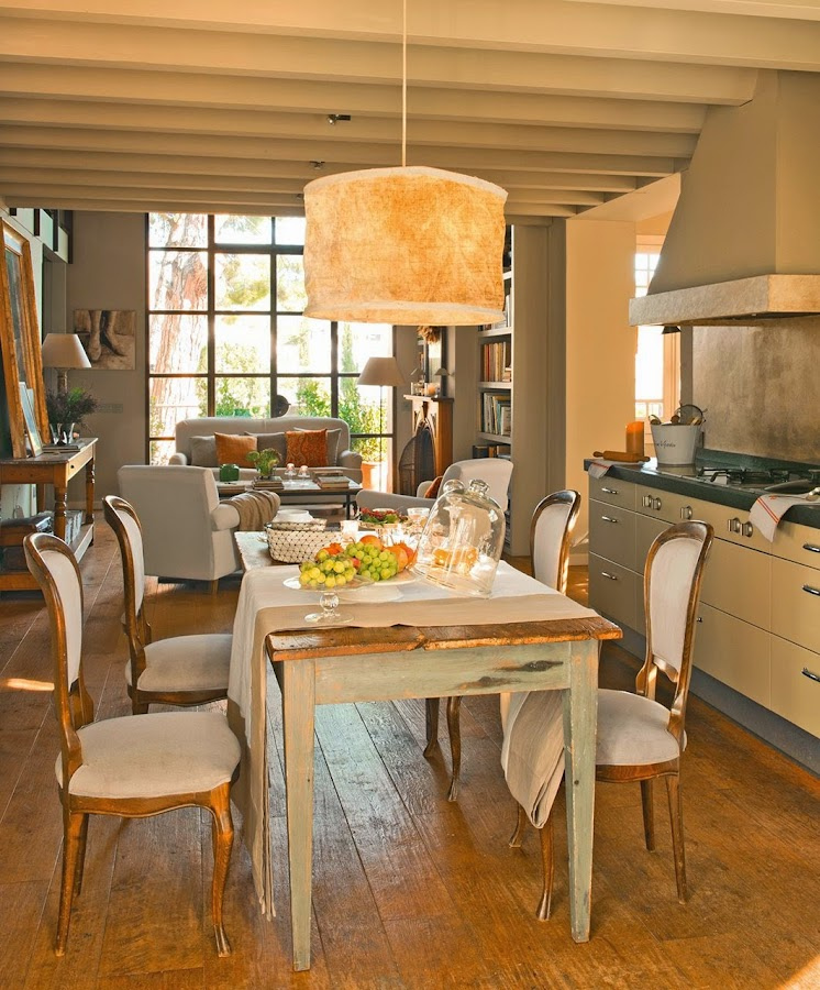 Gaveteros for Cocina comedor salon