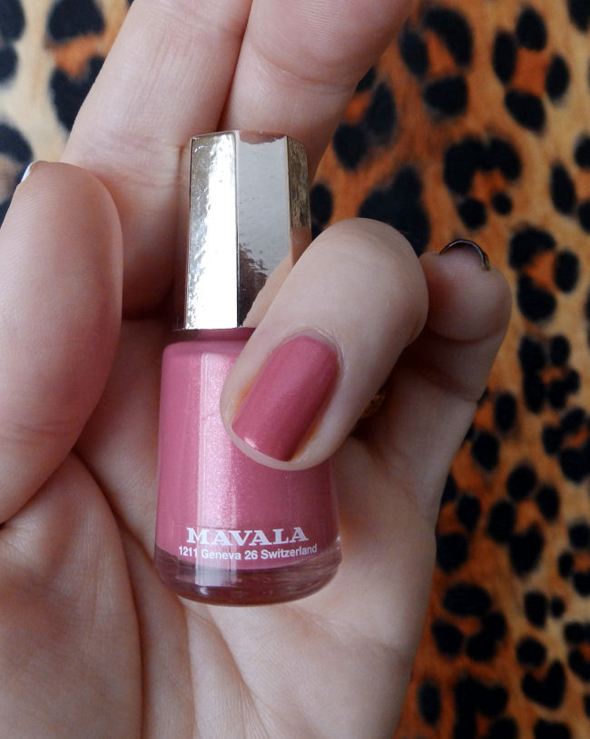 uk style and fashion blog mavala techni-color collection swatches Arty Pink
