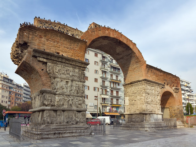 Θεσσαλονίκη καμάρα αψίδα του Γαλέριου