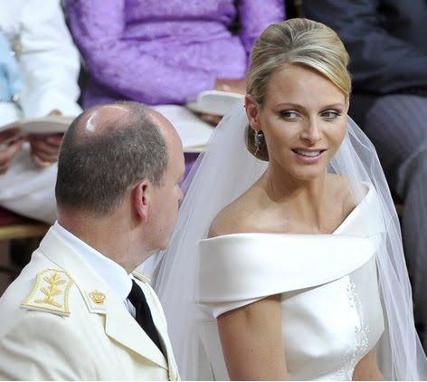 Сватбата в Монако - католически брак