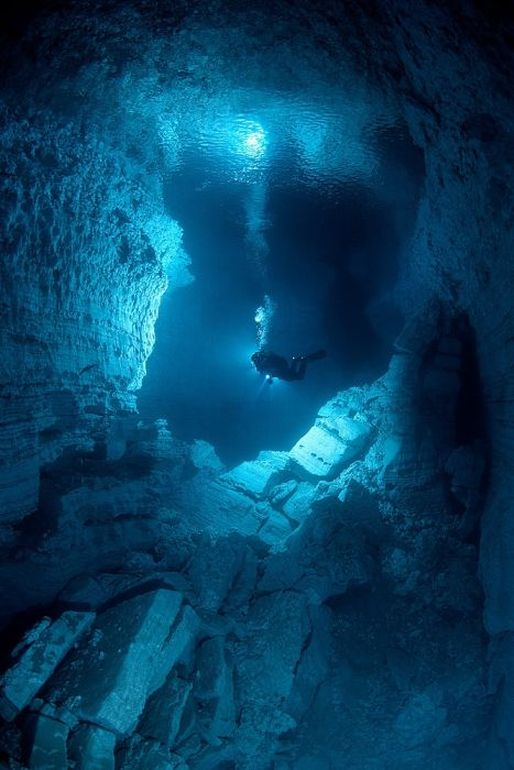 Cool Funpedia Outstanding Photos In The Underwater Cave