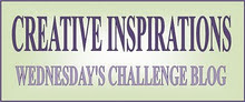 Creative Inspirations Wednesday Challenge