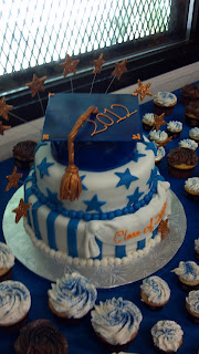 2012 cake for a graduation party