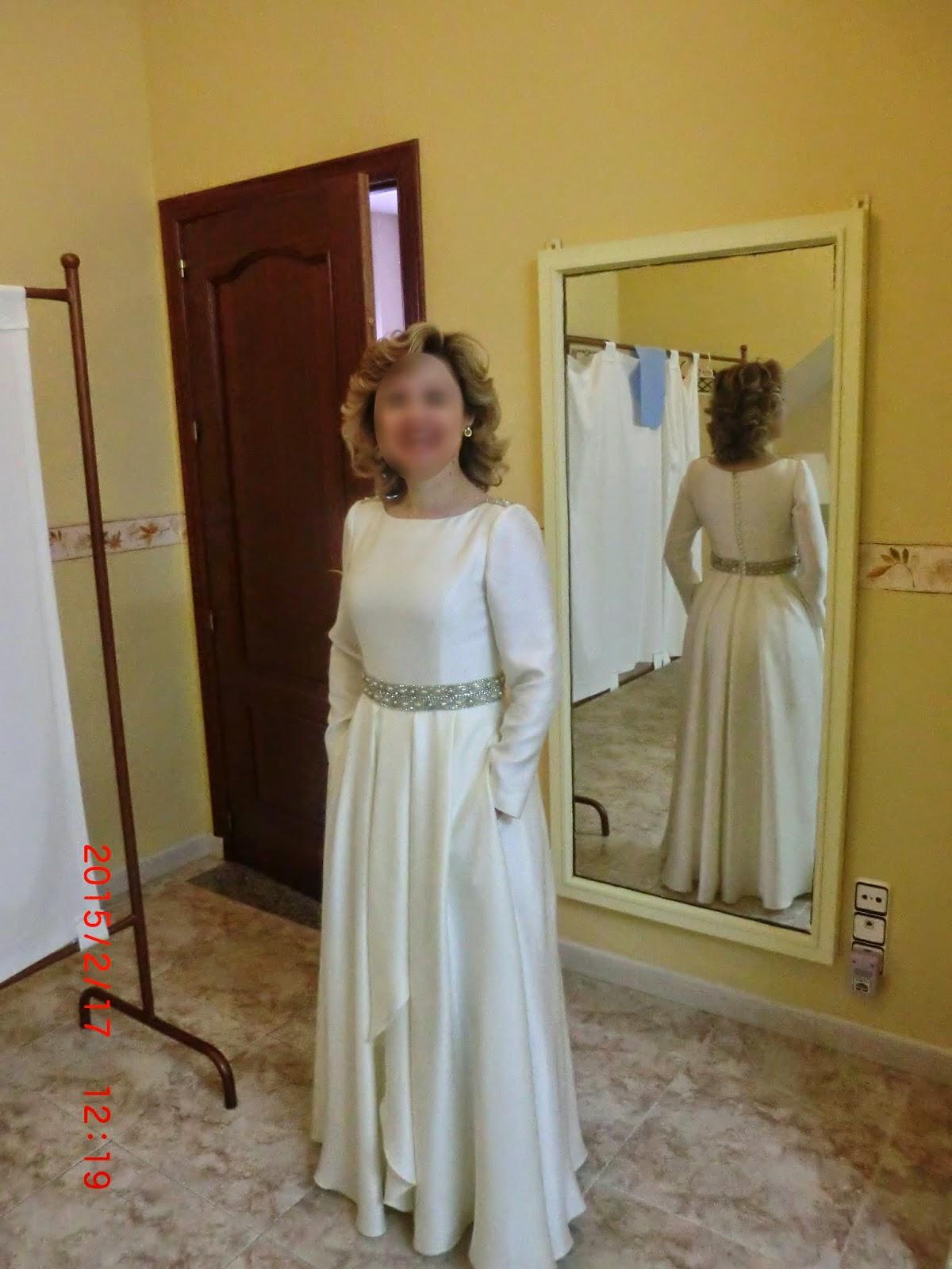Modista vestido novia