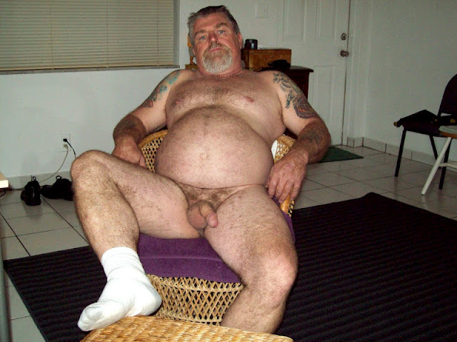 BearJock_2 Big Hairy Daddy Bear in Dirty Jockstrap