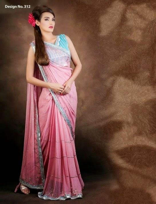 Kukoos Exclusive Party Wear Anarkali Frocks Dresses 2015-Pakistani ...