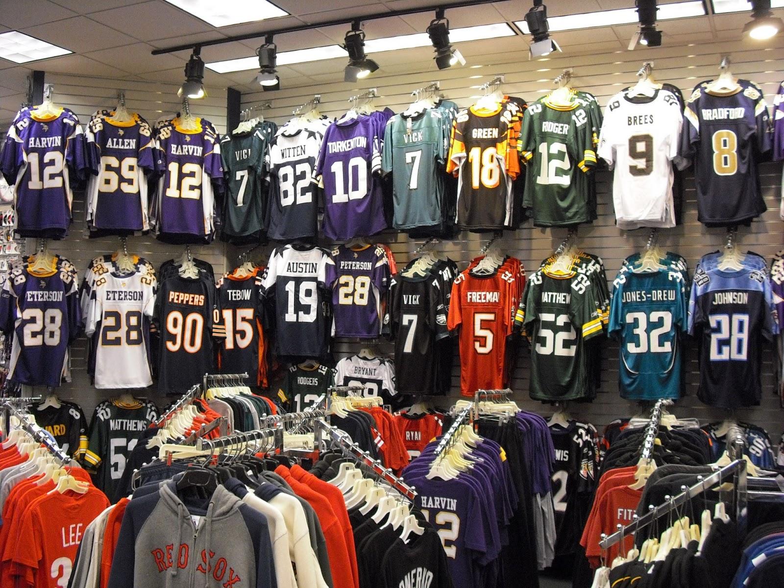 nfl jersey retailers