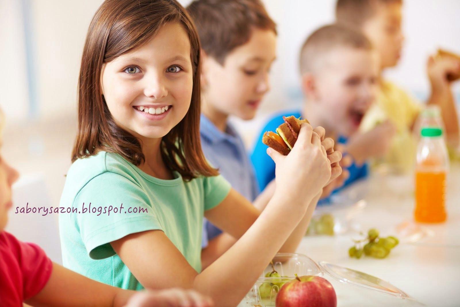 MENUS SALUDABLES PARA NIÑOS - nutricion infantil - vacaciones utiles
