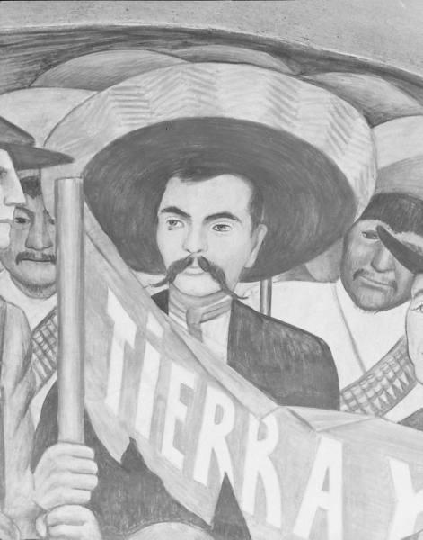 Gefunden zu emeliano zapata auf http www for Emiliano zapata mural