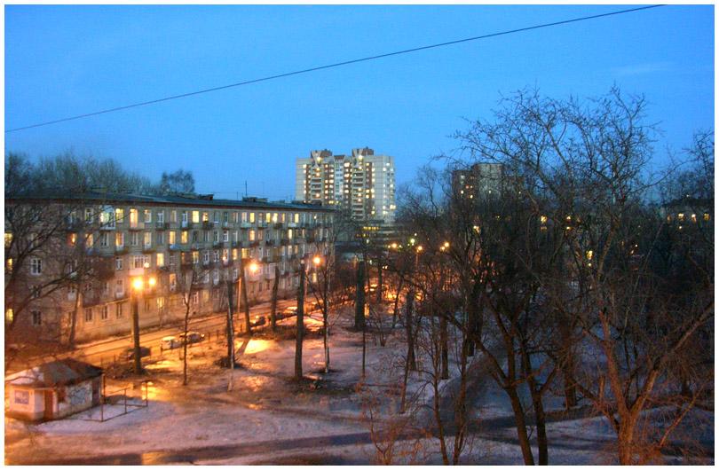 Санкт-Петербург Палевский сад