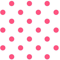 printable pink polka dot pattern paper