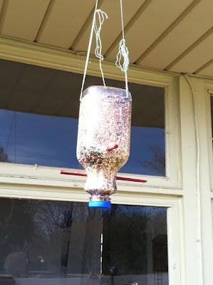 Cómo hacer un comedero para pájaros en Recicla Inventa
