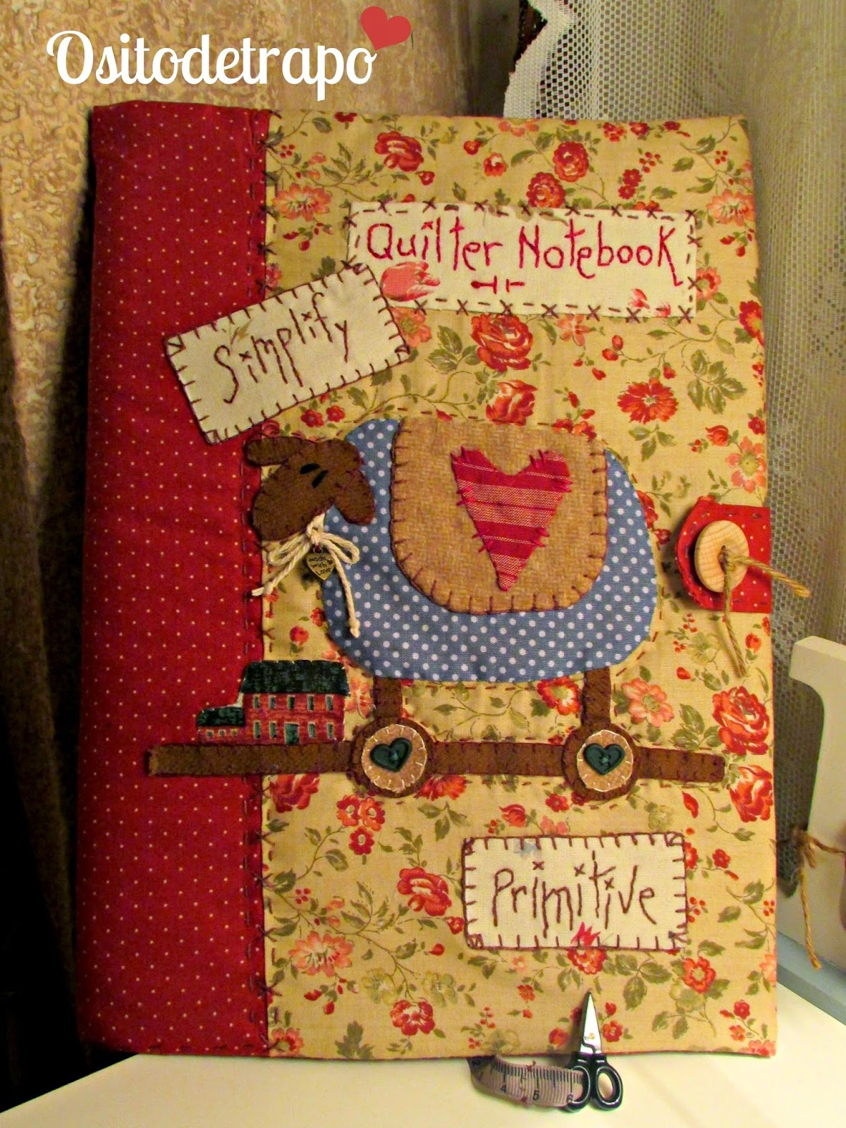 Quilter notebook