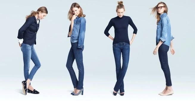 High rise skinny jeans j crew