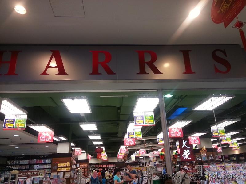kedai buku, kedai buku harris 1borneo