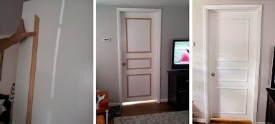 DIY deko pintu