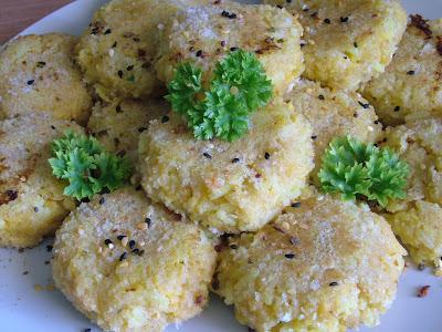 Kotleciki ryżowo-dyniowe z curry