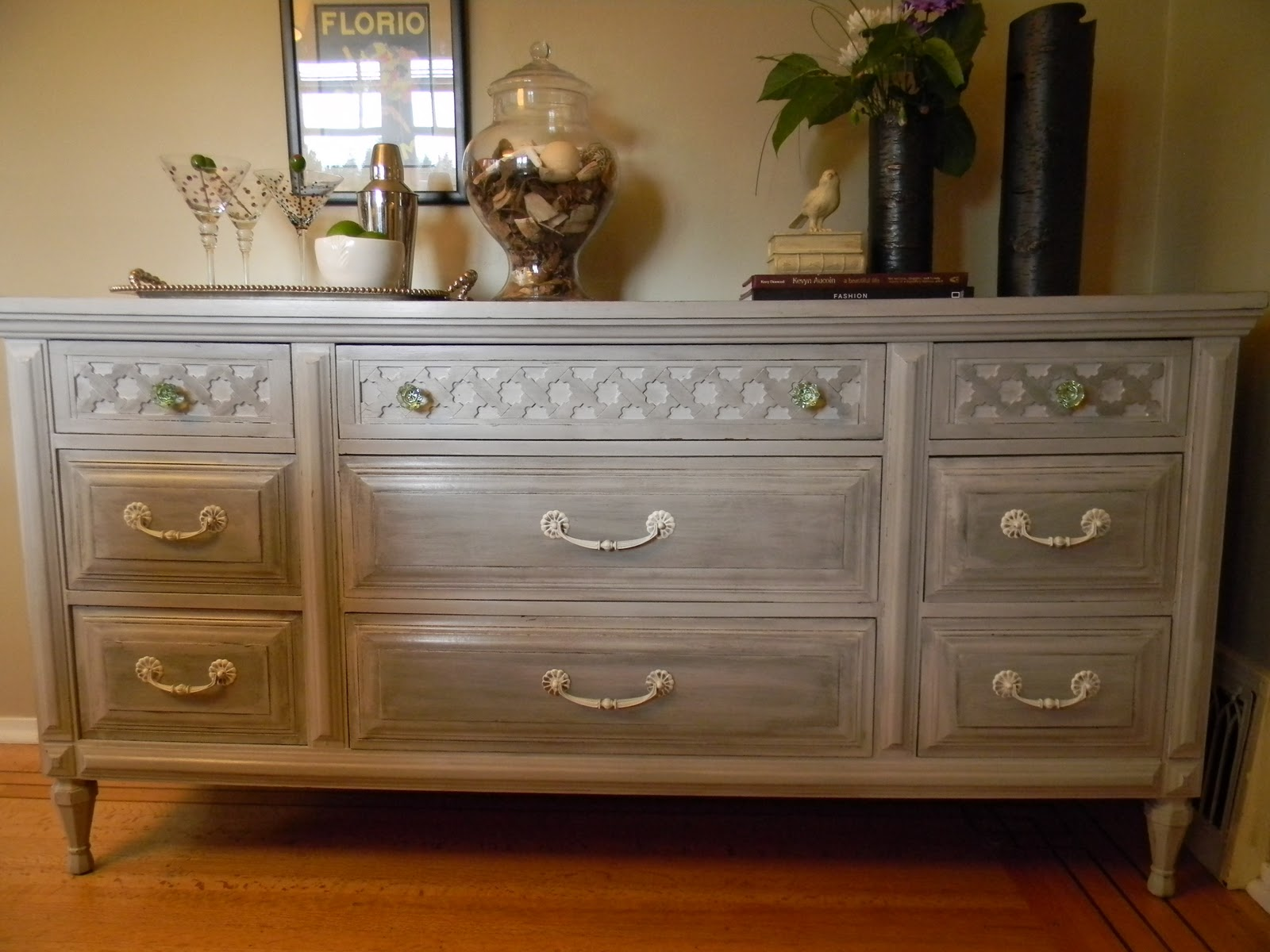 The Design Pages Distressed Dresser