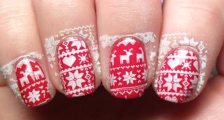 Sweater Stamper Nails