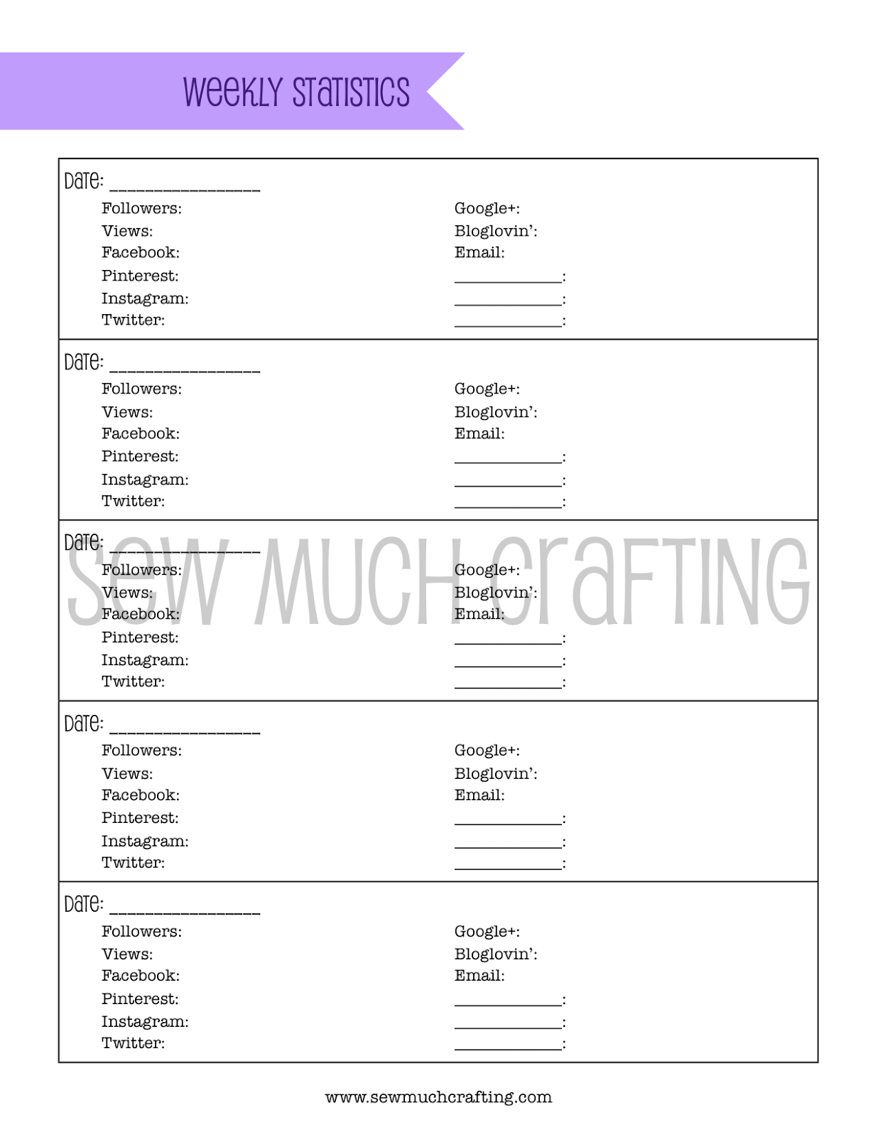 Blog Planner Series with FREE Printables