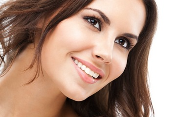 Healthy smile with good teeth