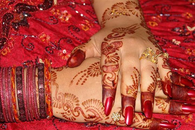 Bridal Hand mehndi design
