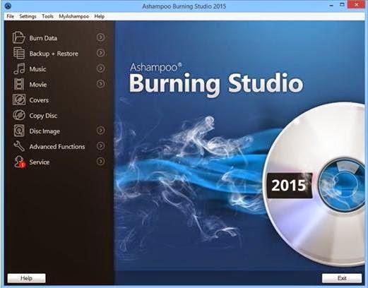 Download Ashampoo Burning Studio 2015