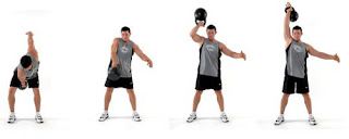 Kettle Ball Muscle Building Exercise Tip