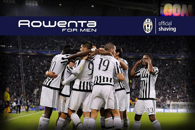 Rowenta For Men, nuevo Official Shaving de la Juve