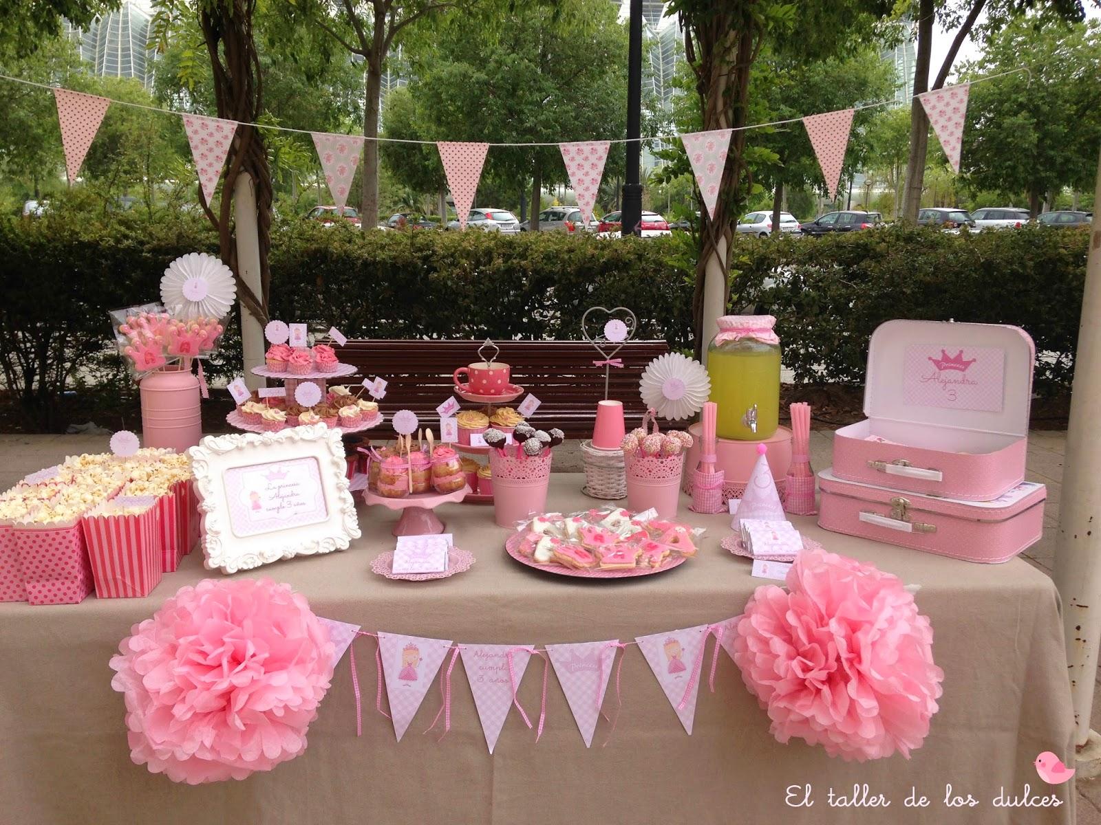 El taller de los dulces mesas dulces en alicante - Preparar mesa dulce para comunion ...