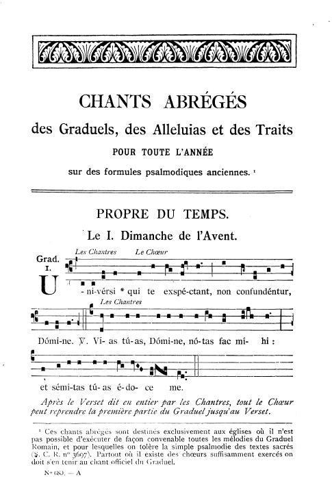 Chants Abrégés (1926)