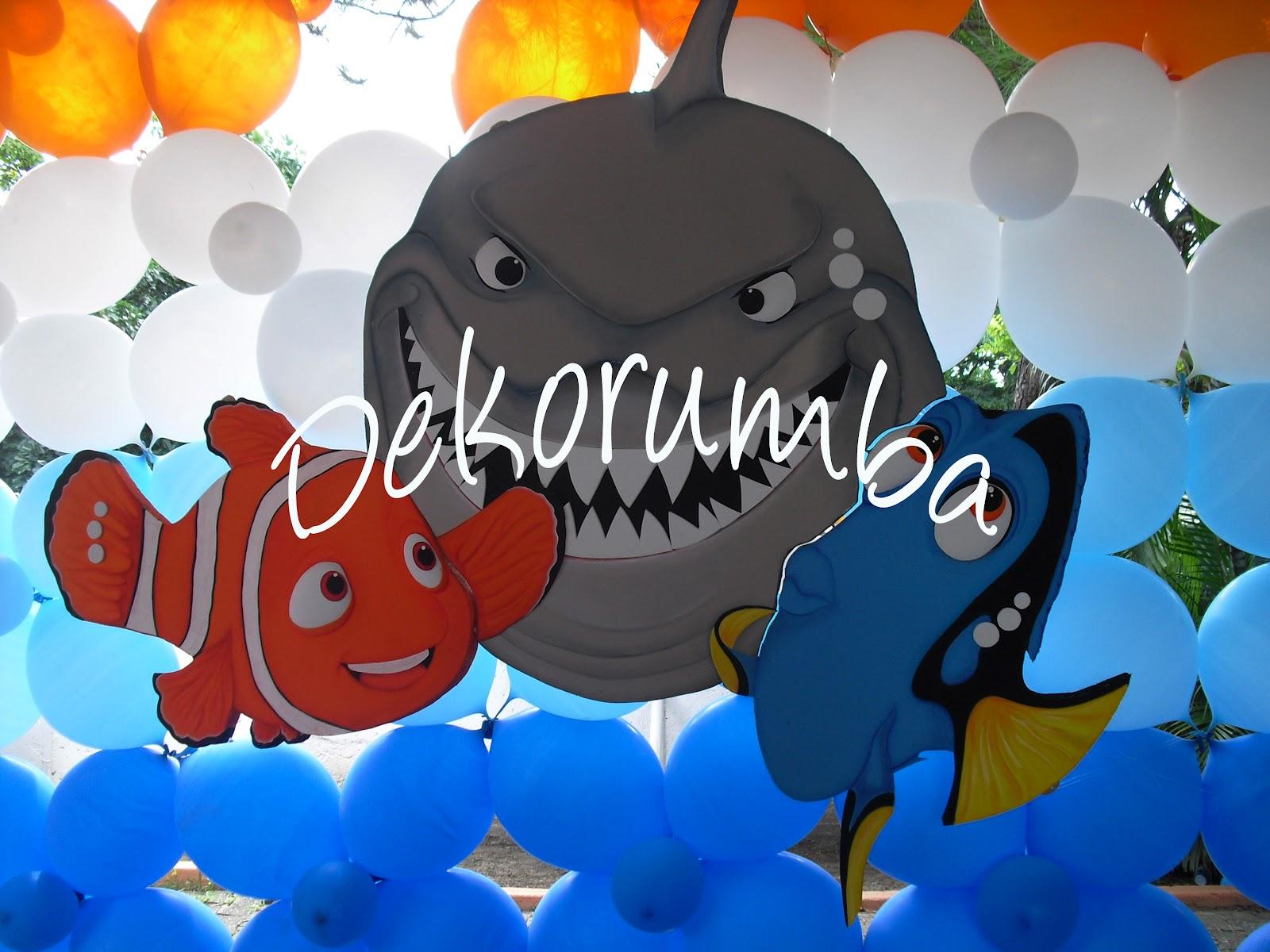 Dekorumba: Imagenes Decorativas de Buscando a Nemo