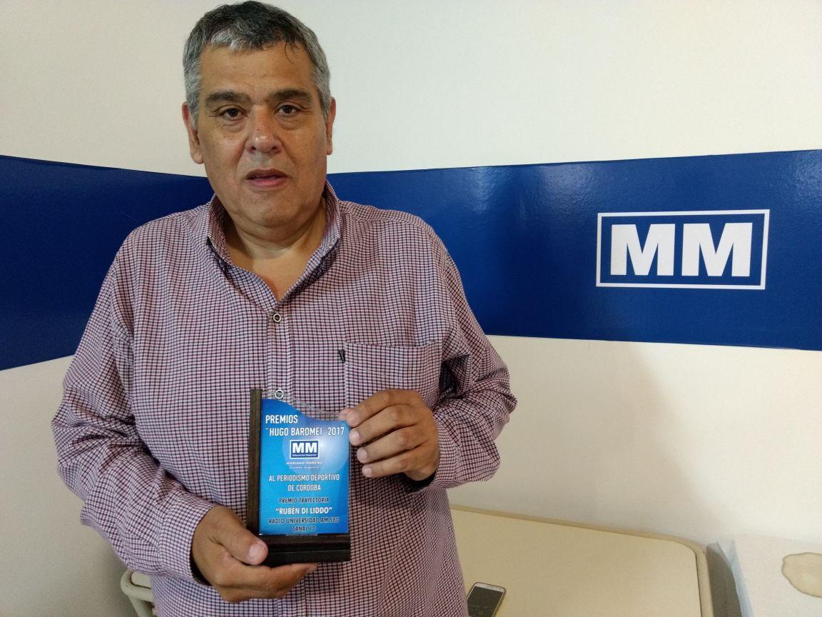 Rubén Di Liddo Premio a la TRAYECTORIA