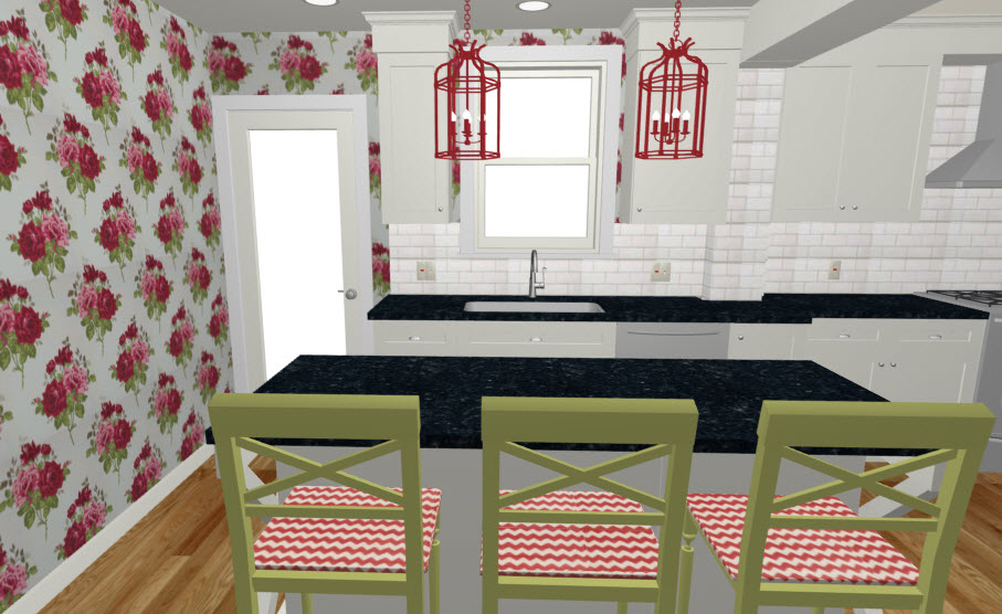 Monday in the Kitchen Wallpaper  Design ManifestDesign Manifest
